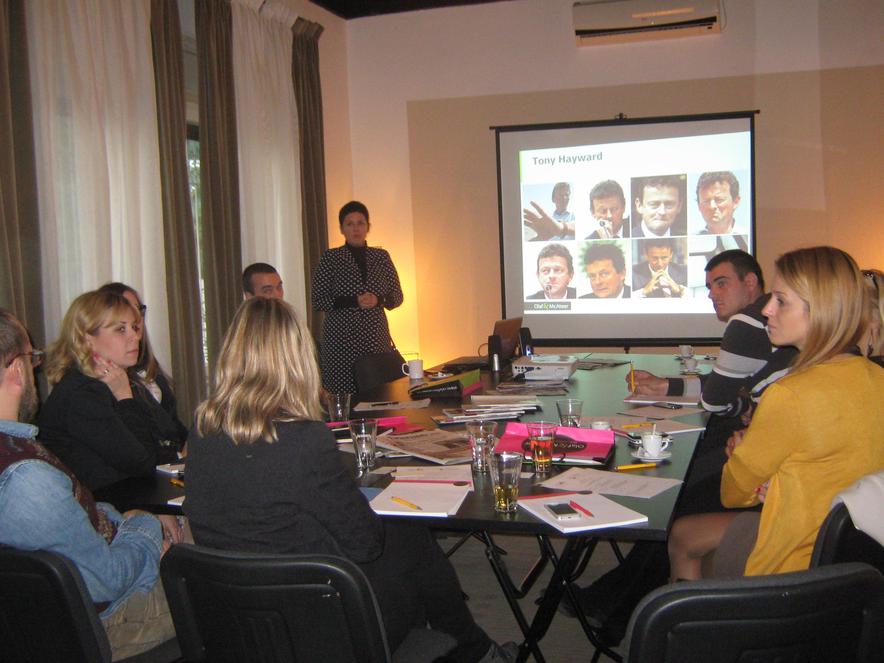 Seminar Krizni PR, Oktobar 2014